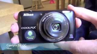 Appareil photo Nikon coolpix S810C