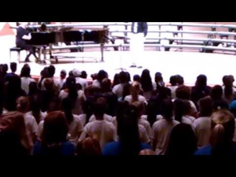 4 Clovis Elementary school combined choirs