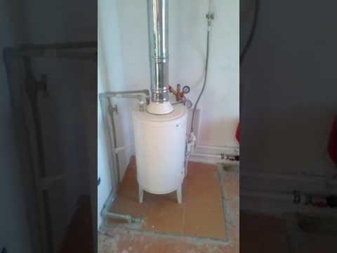 #бюджетное отопление частного дома,# напольный котел, #группа безопасности котла, #насос отопления