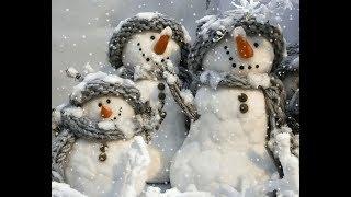 Снеговик  Музыка, исполнение  Павла Плаксина  Стихи  Милены  Хорошиловой