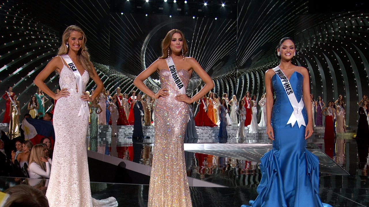 miss universe 2015 top 3 youtube