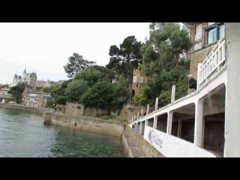 Saint Malo Ferry Landing at Dinard in Brittany France