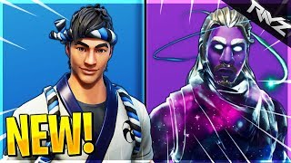 GALAXY Dark Matter Skin LEAKED! Panda Team Leader, Retro & More Leaked! (Fortnite Battle Royale)