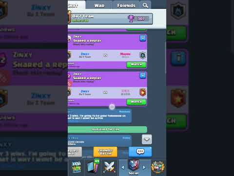Clash Royale Clan War Update - 4/25/2018: How To Fix Clan Chat Not Working (Broken Scrolling)