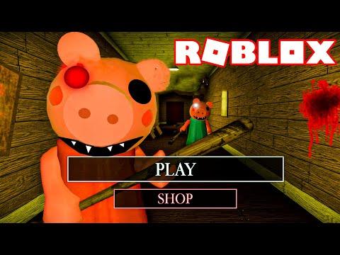 ROBLOX PIGGY ALPHA *I ESCAPED & PLAYED AS PEPPA PIG*