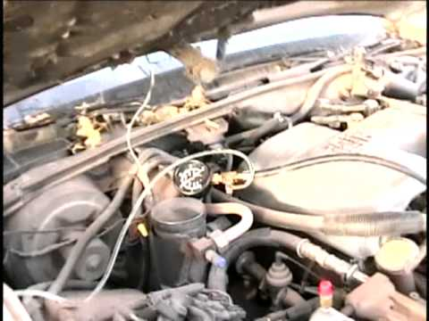 1989 Lincoln Town Car New Fuel Pump Test Youtube