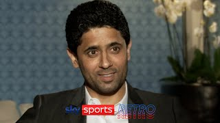 """""""It's difficult to sign them"""" - PSG president Nasser Al-Khelaifi on buying Messi or Ronaldo"""