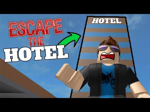 ROBLOX - ESCAPING THE HOTEL OBBY