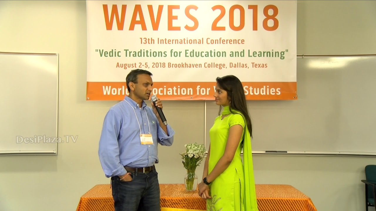 Interview with Mr Anish Sheth at WAVES  Dallas, Texas - 2018.
