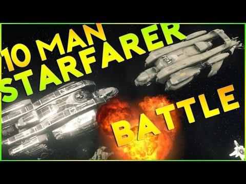 Star Citizen Alpha 2.5   10 MAN STARFARER BOARDING   Part 260 (Star Citizen 2016 PC Gameplay)