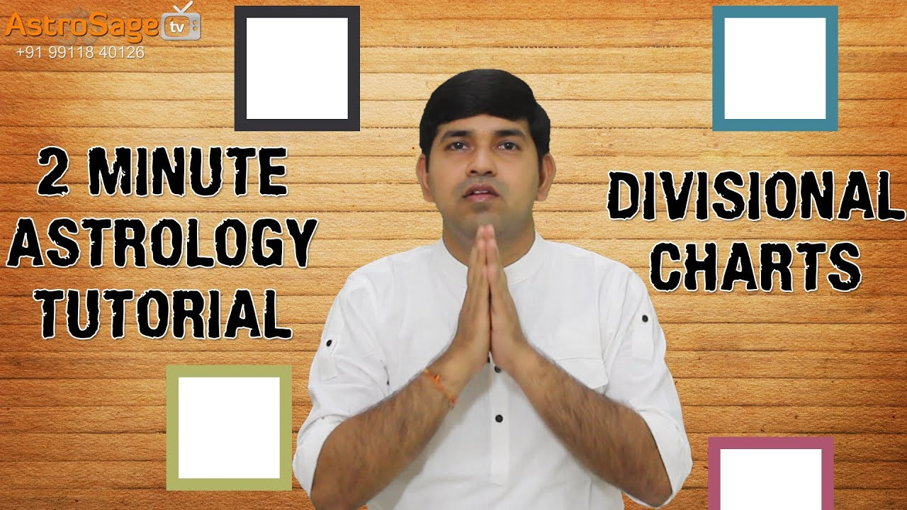 Shodashvarga Explained - Learn Divisional Charts