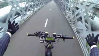 My bike is scared of bridges ?