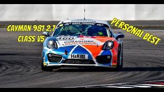 Personal Best | Porsche Cayman 981 2.7 classV5