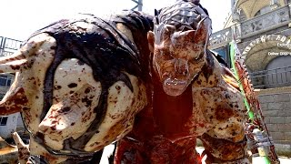 Dying Light Gold Weapon VS Hardest Zombies & Duplication Glitch