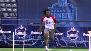 Chris Johnson's 4.24 second 40-yard dash Sets Then-NFL Scouting Combine record