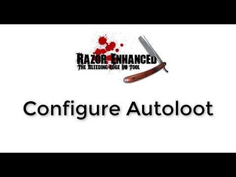 Razor Enhanced - Configure Autoloot, Видео, Смотреть онлайн