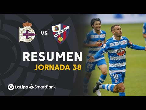 Deportivo La Coruna Huesca Goals And Highlights