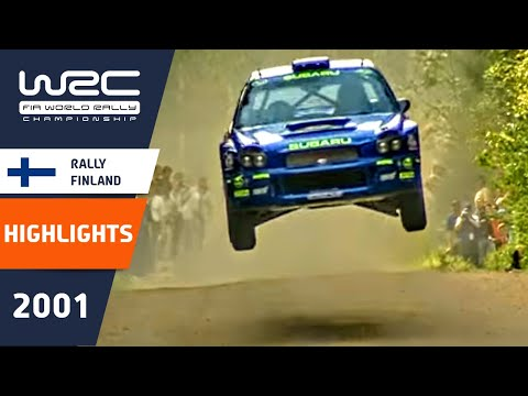 WRC Highlights: Finland 2001: 52 Minutes