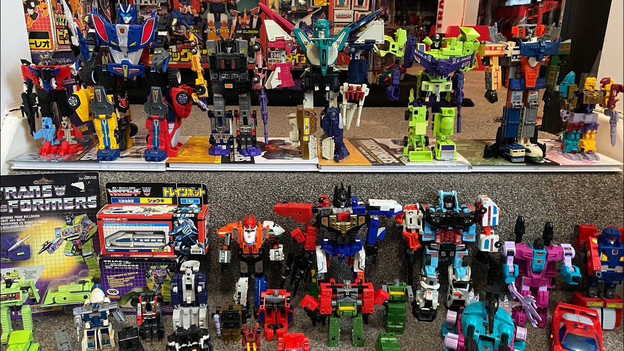 Transformers G1 Combiners Compared: Liokaiser, Menasor, Defensor, Raiden by Toys Are Russ
