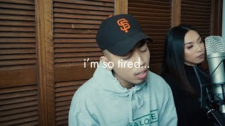Lauv & Troye Sivan - i'm so tired... (Cover By John Concepcion & Krystina Yso)