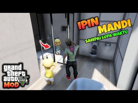 Download IPIN MANDI SAMPAI LUPA WAKTU - GTA 5 MOD ULTRAMAN UPIN IPIN