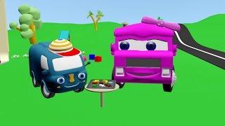 Пригоди моторної Мурашки (3-тя серія) 🍕Уроки кулінарії🍓 Машинки для дітей українською мовою