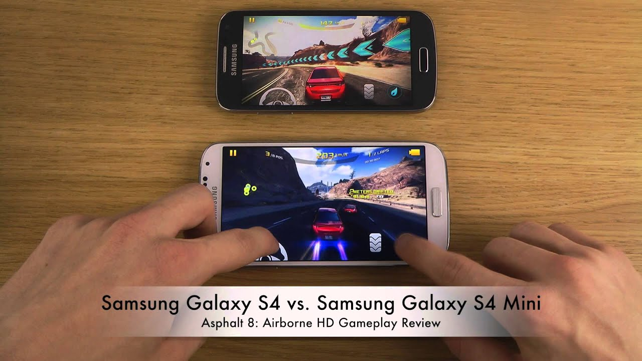 Samsung Galaxy S4 Wallpapers Hd: Samsung Galaxy S4 Vs. Samsung Galaxy S4 Mini
