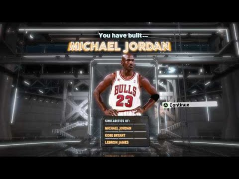 NBA 2K20 MICHAEL JORDAN BUILD - 53 BADGE UPGRADES - DEMIGOD SHOOTING GUARD BUILD 2K20