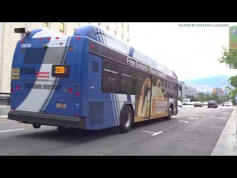 Buses in Salt Lake City, Utah 2018