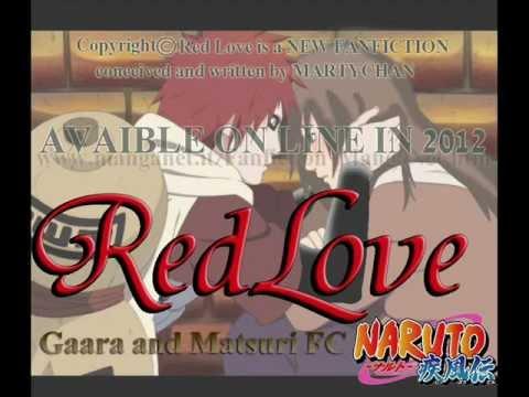 RED LOVE -Gaara and Matsuri FC- - YouTube