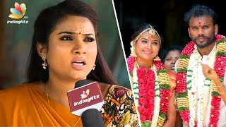 Myna Nandhini's Tearful Interview about her husband | Saravanan Meenatchi Actress