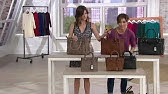 72d9ca0b8 Frye Leather Perforated Logo Unlined Tote - Carson on QVC - YouTube