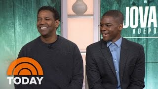 Denzel Washington Made Me Nervous, Admits 'Fences' Co-Star Jovan Adepo | TODAY