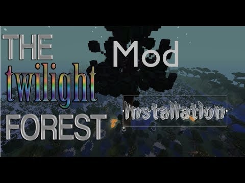 Minecraft How To Install A Mod 1.7.5 (Twilight Forest Mac And Windows)