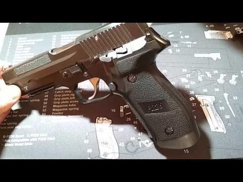 Sig P226 - Sport Trigger SRT Nikel