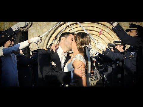 Una boda militar española en la finca San Juan de Castañeda -  Military wedding