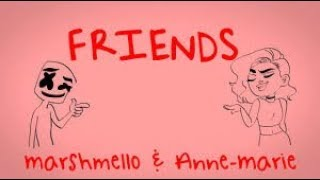Marshmello & Anne Marie - Friends  Whatsapp Status