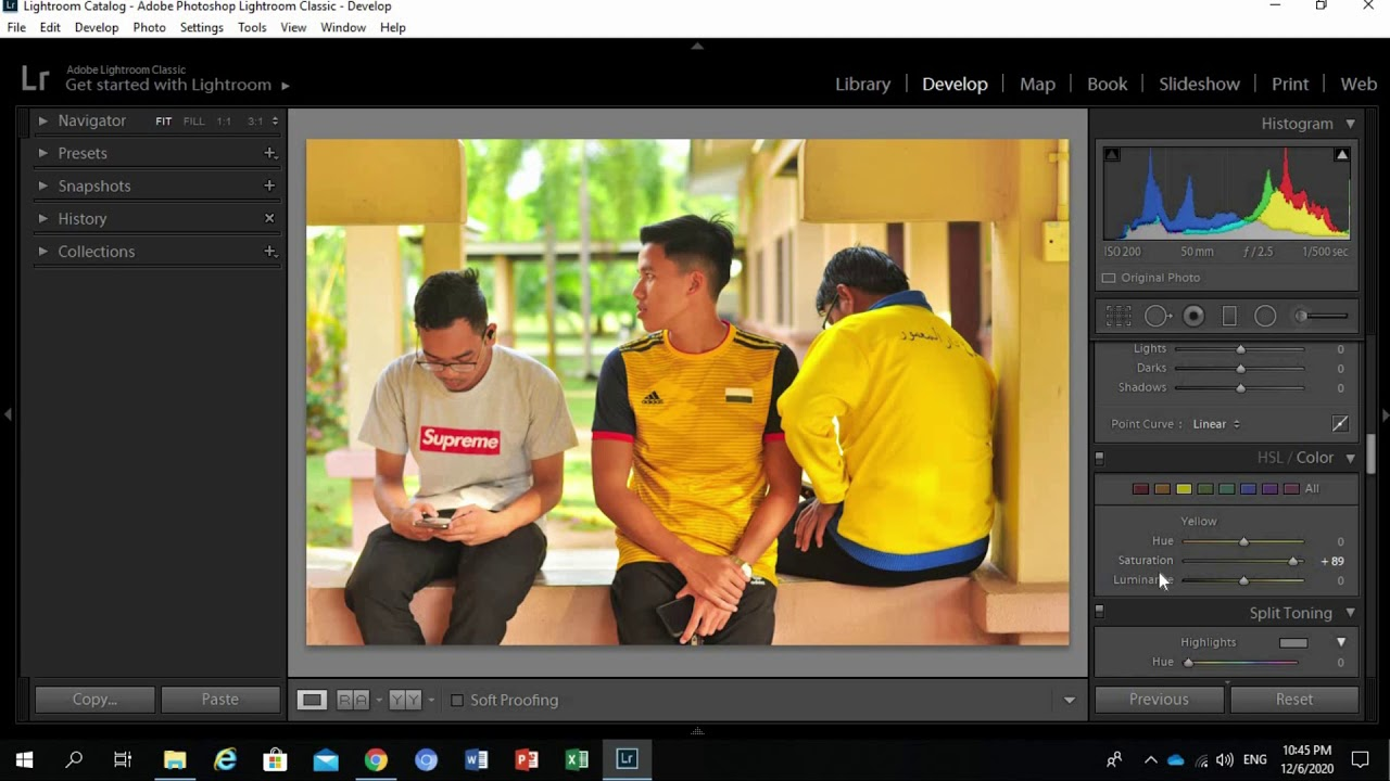 Cara Edit Gambar Menggunakan Lightroom Part 2 (Colour ...