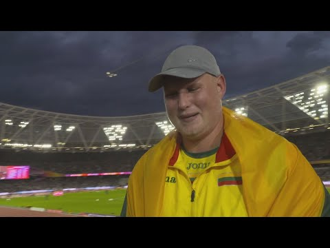 WCH 2017 London - Andrius Gudzius LTU Discus Throw Gold