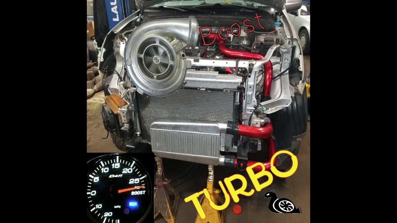 2003 Honda Cr V Turbo Installation Update K24a