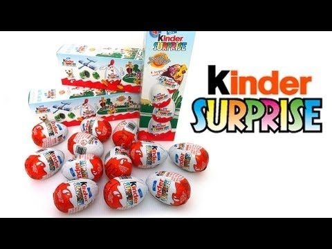 【樂一通秀】健達卡通奇趣蛋盒裝 開盒系列 第二彈 part 1 0053 - YouTube