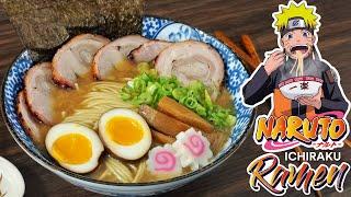 I made Tonkotsu Miso Ramen from Naruto, it's epic!