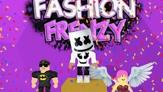 How To Win in Roblox Fashion Frenzy with Dj Marshmello !