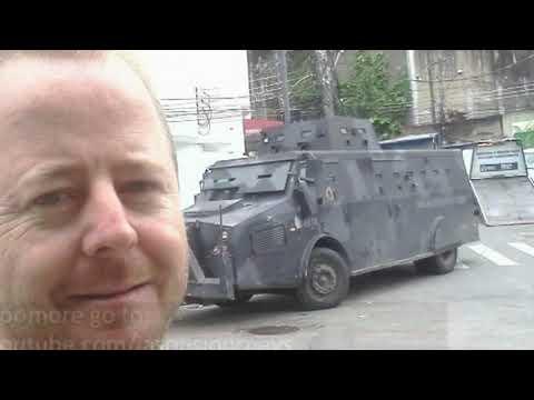 Jason's Journeys - Pacification of Vidigal & Rocinha, Brazil Favelas