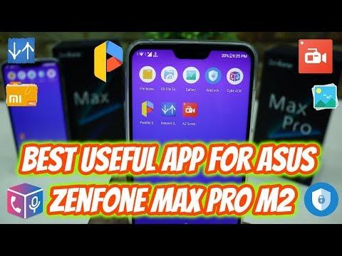 Best Useful App For Asus Zenfone Max Pro M2 & Asus Zenfone Max M2  (Hindi)
