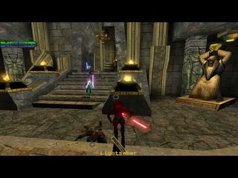 Star Wars - Jedi Knight: Jedi Academy Walkthrough - Korriban Tombs - Light Side