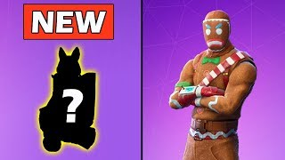 *NEW* GINGER BREAD PET & MERRY MARAUDER RETURNING! FORTNITE NEW SKIN (ITEM SHOP)