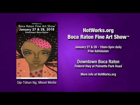 Boca Raton Fine Art Show - January 27 & 28, 2018