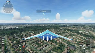 Microsoft Flight Simulator 2020: Boeing 797 Concept   What Will The Future Of Air Travel Look Like.