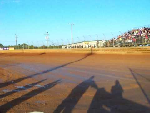 Hot laps at Virginia Motor Speedway